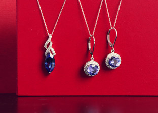 Gemstone Jewelry Blowout: Necklaces & Earrings