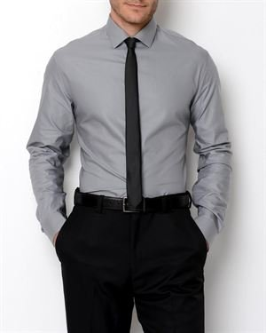 Kenneth Cole Reaction Solid-Color Button-Up