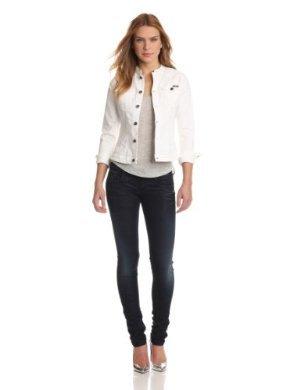 G-Star<br>White Denim Jacket