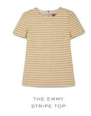 THE EMMY STRIPE TOP