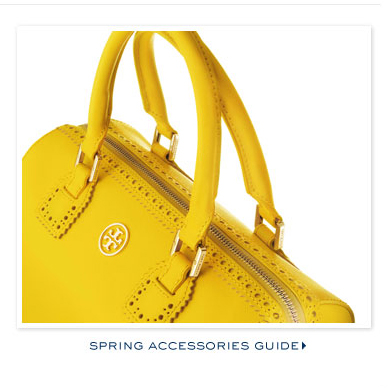 SPRING ACCESSORIES GUIDE