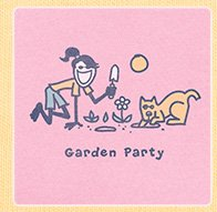 Women's Crusher Tee Garden Party