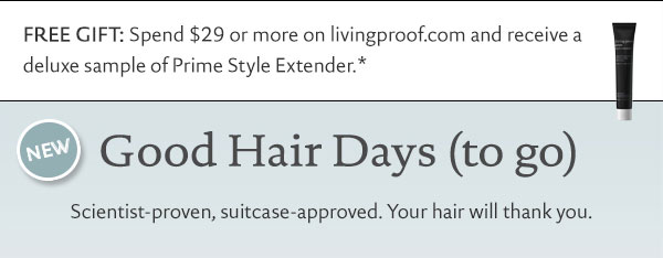 Our science promises you a good hair day, everyday.