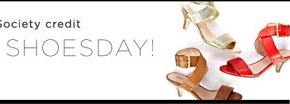 Tuesday Shoesday - Enter to win a Sole Society credit