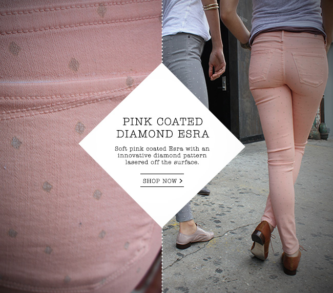 Shop the Pink Coated Diamond Esra