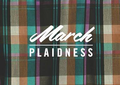 Shop March Plaidness
