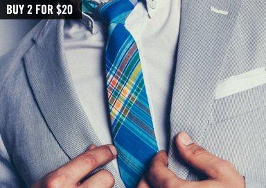 Shop Spring Prep: Striped & Plaid Ties