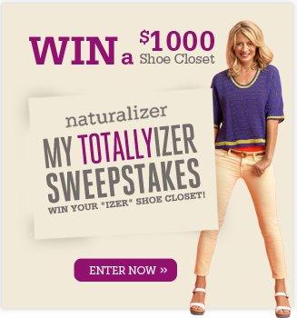 Win a $1000 Shoe Closet