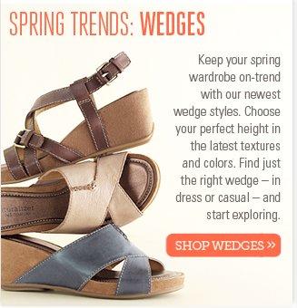 Spring Trends: Wedges