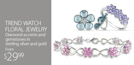 Trend Watch - Floral Jewelry