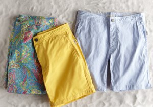 Swim & Sand: Onia Trunks, Towels & Shoes