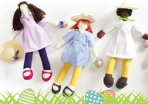 Easter Treats: Dolls from Isabel Garreton