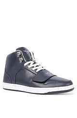 The Cesario Sneaker in Navy
