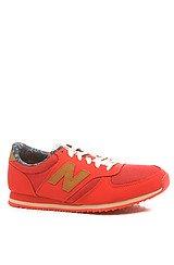 The New Balance x Herschel 420 Sneaker in Red