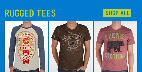 Shop Rugged Tees