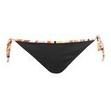 Paul Smith Swimwear - Black Swirl Print Trim Bikini Bottoms