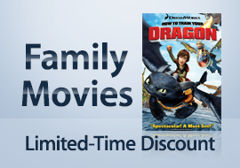 Family Movies - Limited-Time Discount (Cover: How to Train Your Dragon 386717154)