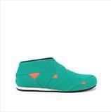 Helix Mens   Turquoise + Orange