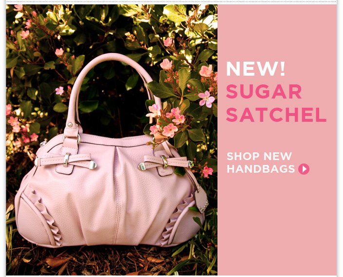 Our Spring Handbags have arrived + 15% OFF Your Order! Use code SAVE15.