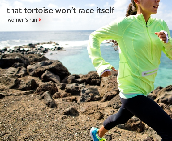 the tortoise won't race itself