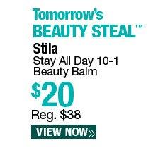 Tomorrow's Beauty Steal - Stila Stay All Day 10 in 1 Beauty Balm