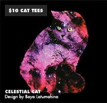 $10 Cat Tees