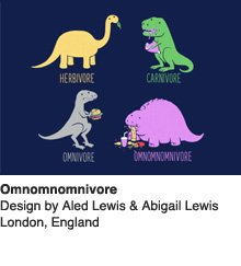 Omnomnomivore - Design by Aled Lewis & Abigail Lewis / London, England