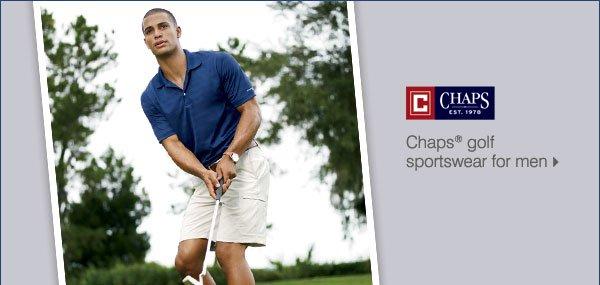 Chaps(R) golf sportswear for men