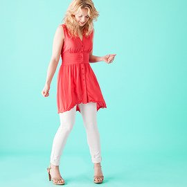 Coral & Turquoise: Women's Apparel