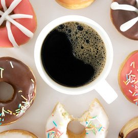 Rise & Shine: Coffee & Doughnuts
