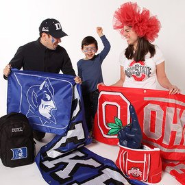 NCAA Favorites: Apparel & Accessories