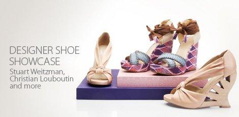 Designer shoe showcase