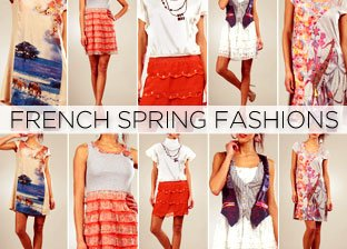 French Spring Fashions for Her