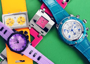 Spring Time: Colorful Watches