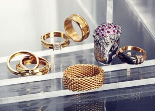 Rings by Bvlgari, Cartier, Tiffany & Co. & more