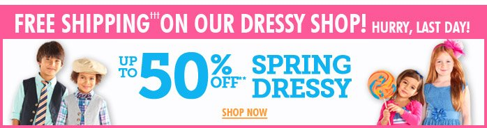 Dressy Up To 50% Off