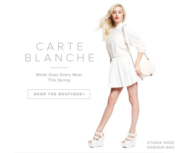 White Is EveryWear for Spring!  Shop the Boutique >