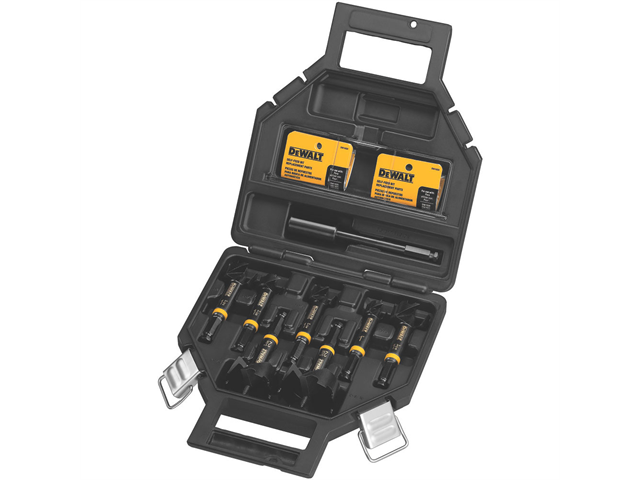 DeWalt DW1649 8-Piece Self Feed Bit Kit