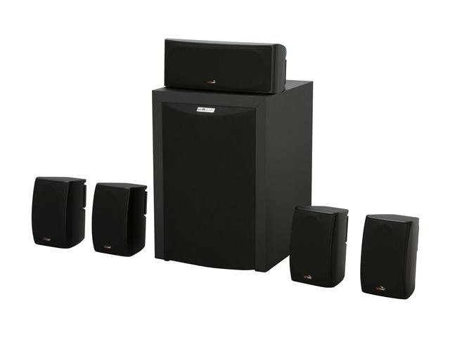 Polk Audio RM6750 Black 5.1CH Home Theater Speaker System