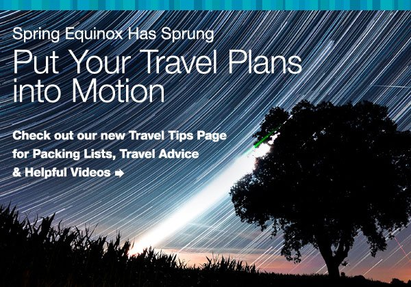 Put your travel plans into motion