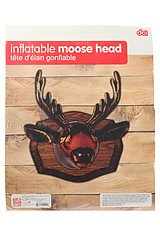 The Inflatable Moose Head