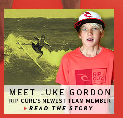 Meet Luke Gordon - The Newest Member of the Rip Curl Team