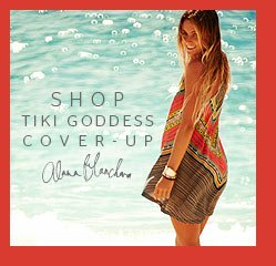 Shop Tiki Goddess Cover-Up - Alana Blanchard