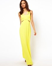 ASOS Maxi With Cut Out