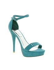 New Look Savannah Turquoise Strapped Sandals