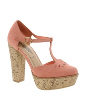 New Look Tinkerbell Platform Maryjane Shoes