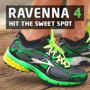Hit the sweet spot with the award-winning Ravenna 4 - Runner's World magazine's Best Buy