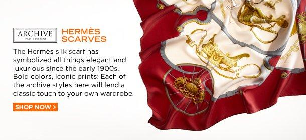 ARCHIVE: HERMÈS SCARVES, Event Ends March 25, 9:00 AM PT >