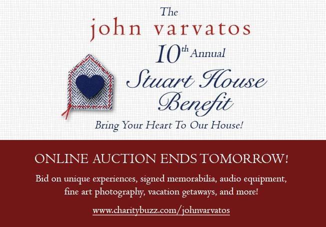 Stuart House Online Auction Closes on Thursday - Support Now