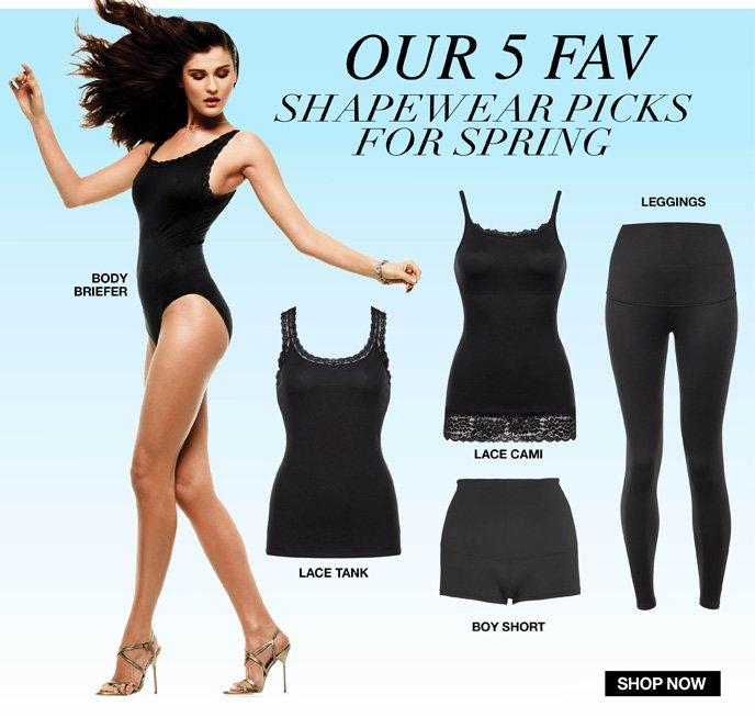 Our 5 Fav Shapewear Picks for Spring